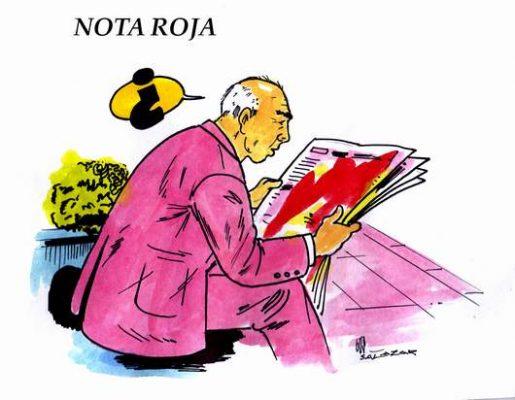Hoy en el Cartón de Salazar / NOTA ROJA