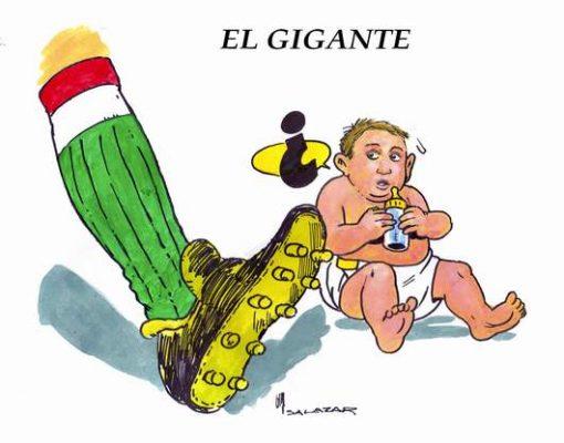 Hoy en el Cartón de Salazar / EL GIGANTE
