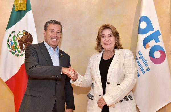 Enlazan relaciones Guanajuato y Colombia