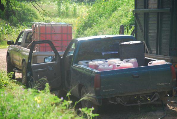 Decomisados, 60 mil litros de combustible robado en Irapuato