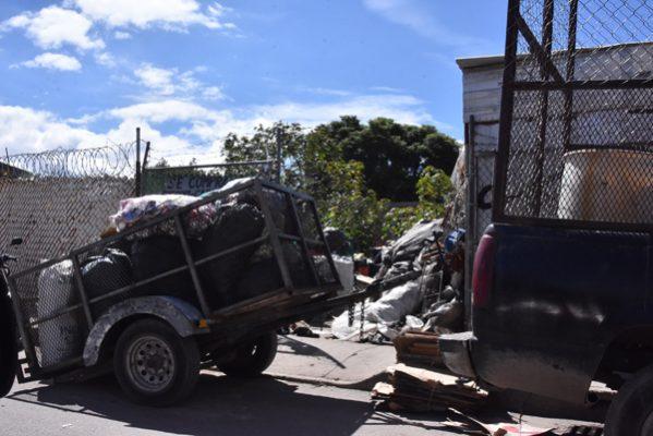 Revisan chatarreras en zonas habitacionales para evitar accidentes