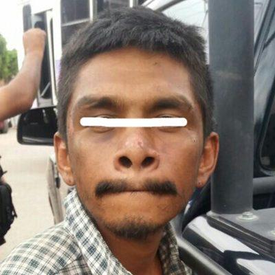 """Detienen al """"Changuito"""" por escandalizar en urbano"""