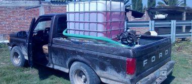 Aseguran ministeriales cuatro mil litros de huachicol