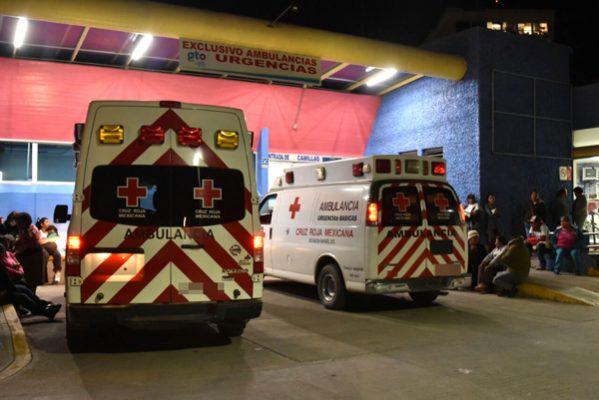 Tres hombres lesionados uno grave