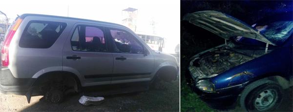 Recuperan dos vehículos con reporte de robo vigente