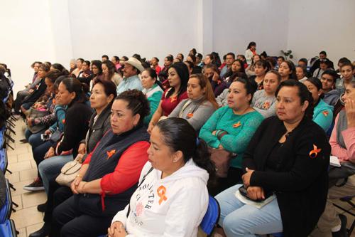 Conmemoran el Día Internacional de la Eliminación de la Violencia contra la Mujer