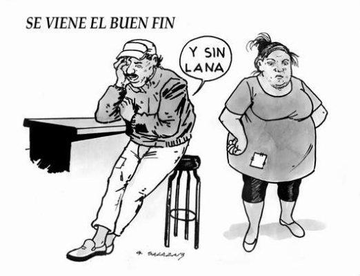 Hoy en el Cartón de Salazar / SE VIENE EL BUEN FIN