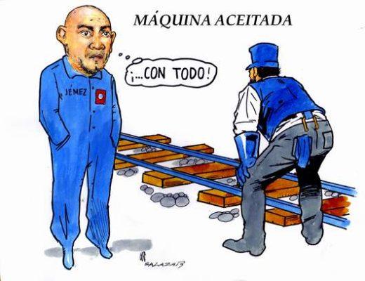 Hoy en el Cartón de Salazar / MÁQUINA ACEITADA