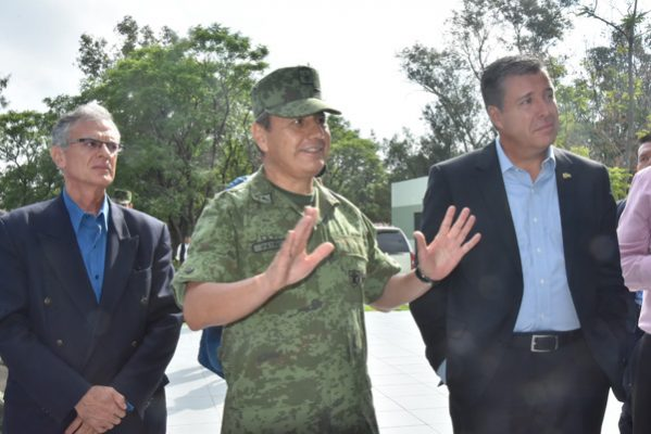 Patiño, comandante de la Brigada Militar