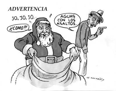 Hoy en el Cartón de Salazar / ADVERTENCIA
