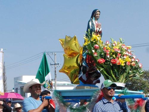 Comienzan los festejos a la Virgen de Guadalupe