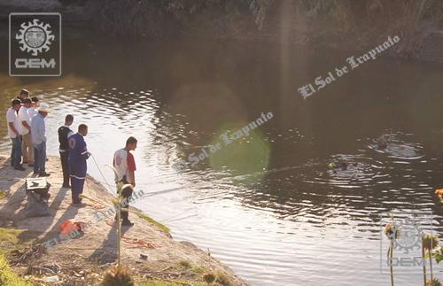 Rescatan a penjamense ahogado en el Río Lerma en El Recreo