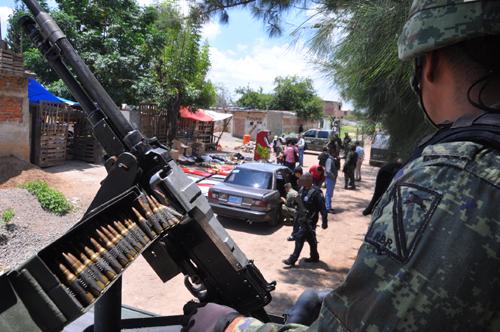 Advierte Obispo riesgo de militarización por Ley de Seguridad Interior