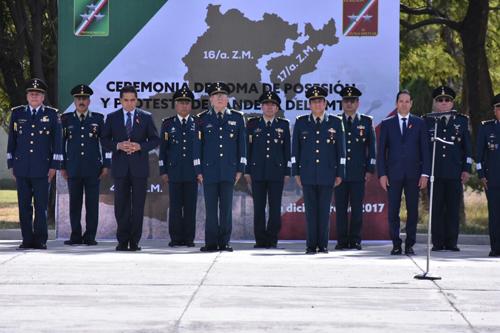 Cruz Rivas asume XII Región Militar