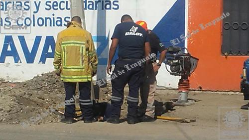 Intensa Fuga de gas provoca movilización de cuerpos de rescate