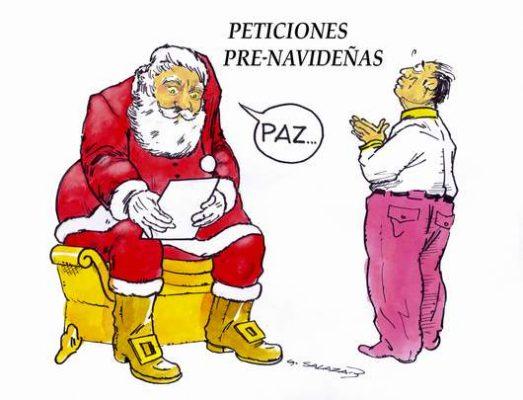 Hoy en el Cartón de Salazar / PETICIONES PRE-NAVIDEÑAS