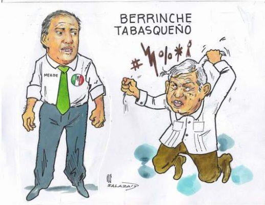 Hoy en el Cartón de Salazar / BERRINCHE TABASQUEÑO