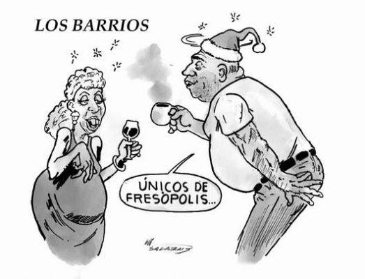 Hoy en el Cartón de Salazar / LOS BARRIOS