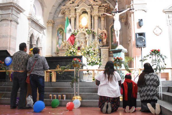 Enorme devoción a la Virgen de Guadalupe