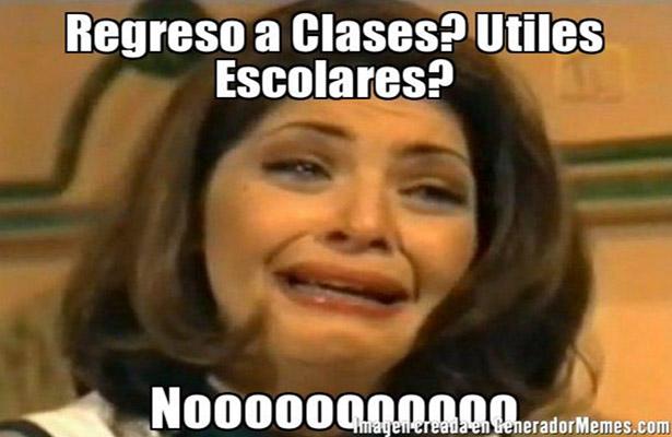 ¡Feliz regreso a clases! así se vive el fin de vacaciones y los memes lo saben