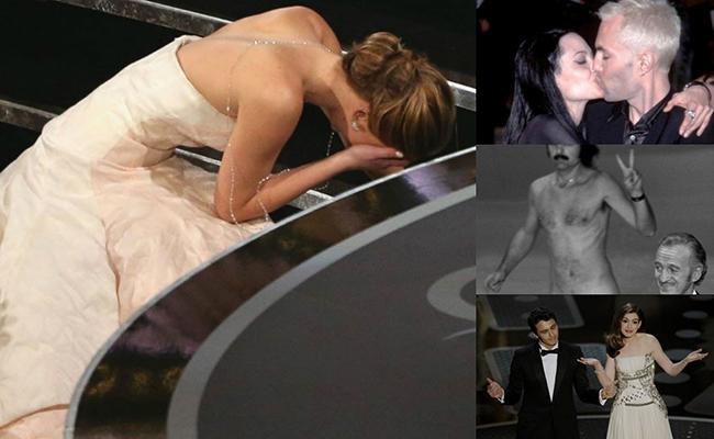 Los 7 momentos más vergonzosos en la historia de los Oscar