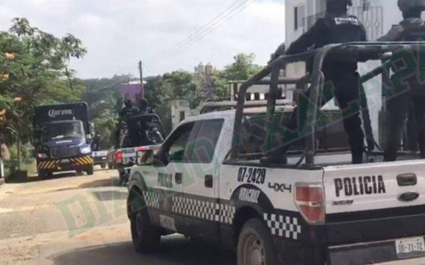 Refuerzan seguridad en Hidalgotitlán tras asesinato de alcalde electo