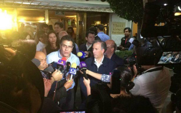 Ríos Piter se une a la campaña presidencial de Meade
