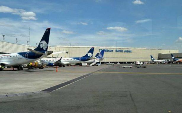 Aeronáutica Civil prevé sanciones a pilotos por protesta en el AICM