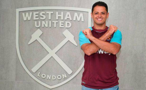 Chicharito ya tiene nuevo número en el West Ham