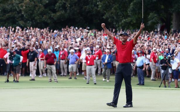 """Luego de 5 años, el """"Tigre"""" ruge de nuevo: Woods gana un torneo de PGA Tour"""