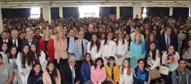 Nueva generación de universitarios tuvo emotiva bienvenida en la Anáhuac