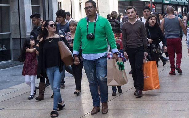 Confianza del consumidor crece 8.2% anual en febrero: INEGI