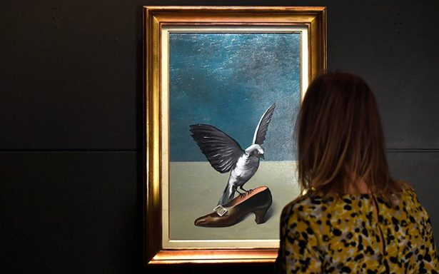 ¡Eureka! Descubren última pieza de una pintura de Magritte