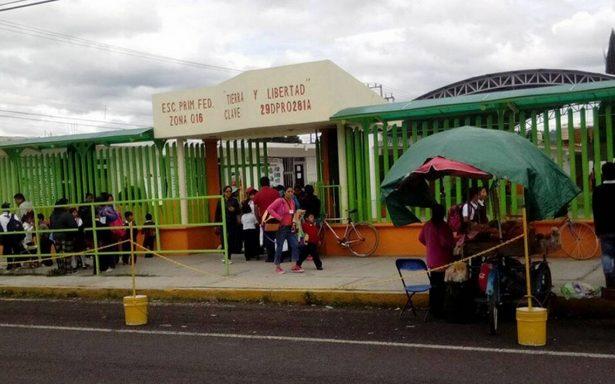 Sacan a niños por fuga de gasolina en Ixtacuixtla