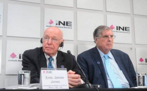 EU no ha interferido en proceso electoral de México: Jeffrey Davidow
