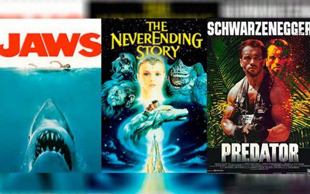 ¡Regresan al cine 'Tiburón', 'Depredador' y 'La historia sin fin'!