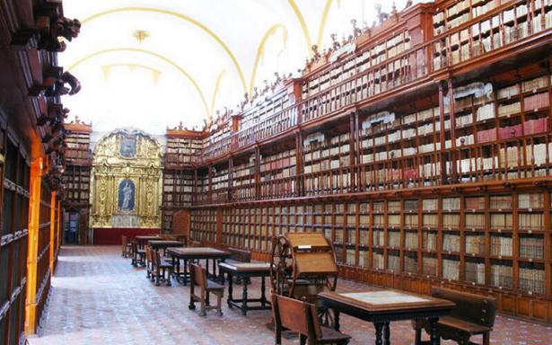 Biblioteca Palafoxiana, sufre daños tras sismo