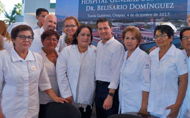 Peña Nieto refrenda compromiso de seguir fortaleciendo al ISSSTE