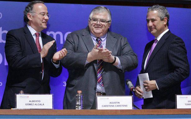 Carstens deja el Banxico con tasa de referencia del 7%