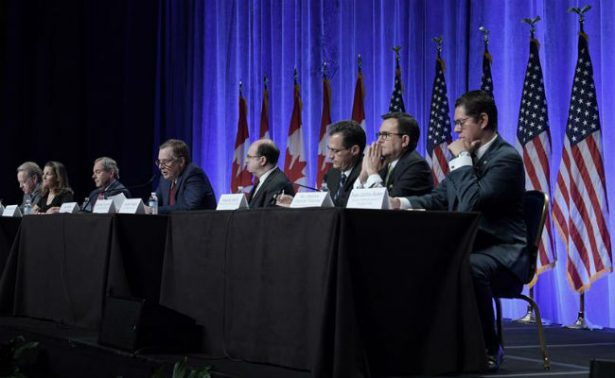 México, EU y Canadá pactan acelerar negociación del TLCAN