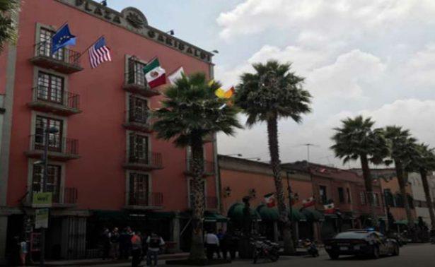 Hallan cadáver de un hombre en cisterna de hotel del Centro Histórico de la CDMX