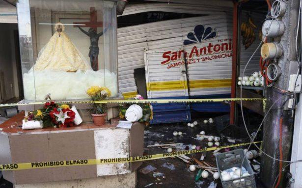 Explosión en tortillería deja 8 lesionados