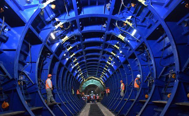 [Fotos] Así va la construcción del Túnel Emisor Oriente