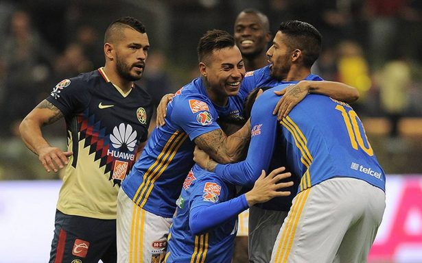 América perdió el primer partido de la semifinal ante Tigres