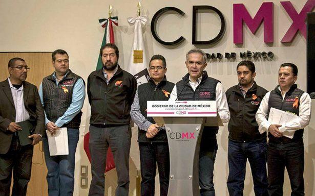 Recuperación de Tláhuac tras sismo costará mil mdp, anuncia Mancera