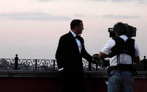 Luis Miguel sorprende con un detrás de cámaras de su nuevo video