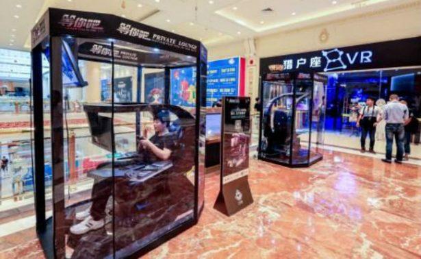 """En China dan """"cápsulas"""" con juegos para maridos que no quieren ir de compras"""