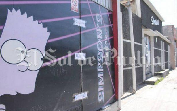 Encargados del bar Simpson's en Puebla se deslindan de asesinato de adolescente