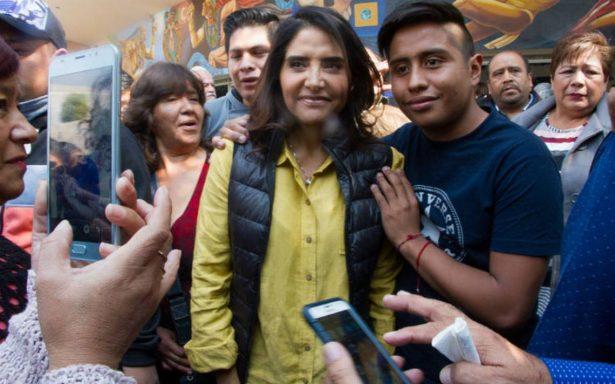 Barrales confía en que encabezará por la Ciudad de México al Frente