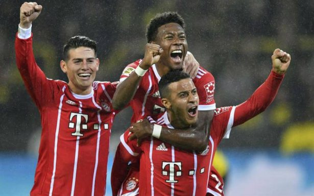 Bayern Munich vence al Borussia Dortmund y se lleva clásico de Alemania